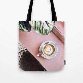 pink latte Tote Bag