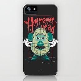 Mr. Hellraiser Head iPhone Case