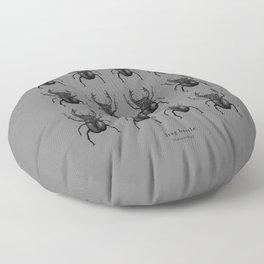 Stag beetle Floor Pillow