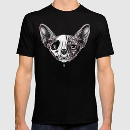 Shynx Half Skull T-shirt