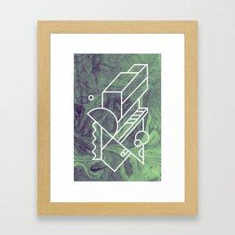 No 2 Framed Art Print