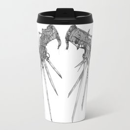 Scissorhands (BnW) Travel Mug