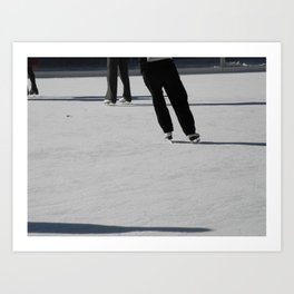On Ice Art Print