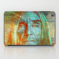 iggy iPad Cases featuring Iggy by Ganech joe