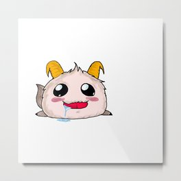 Poro League of Legends Metal Print