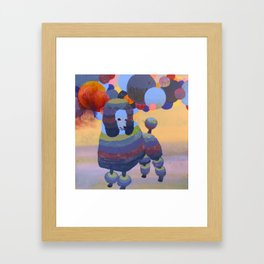Poodle Framed Art Print