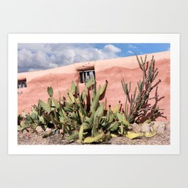 Hacienda Wall Art Print
