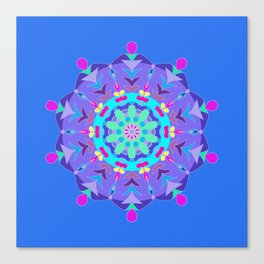 Inner Workings Mandala Canvas Print