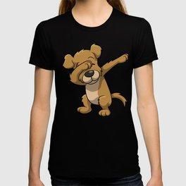 Funny Dabbing dog print - perfect gift for kids T-shirt