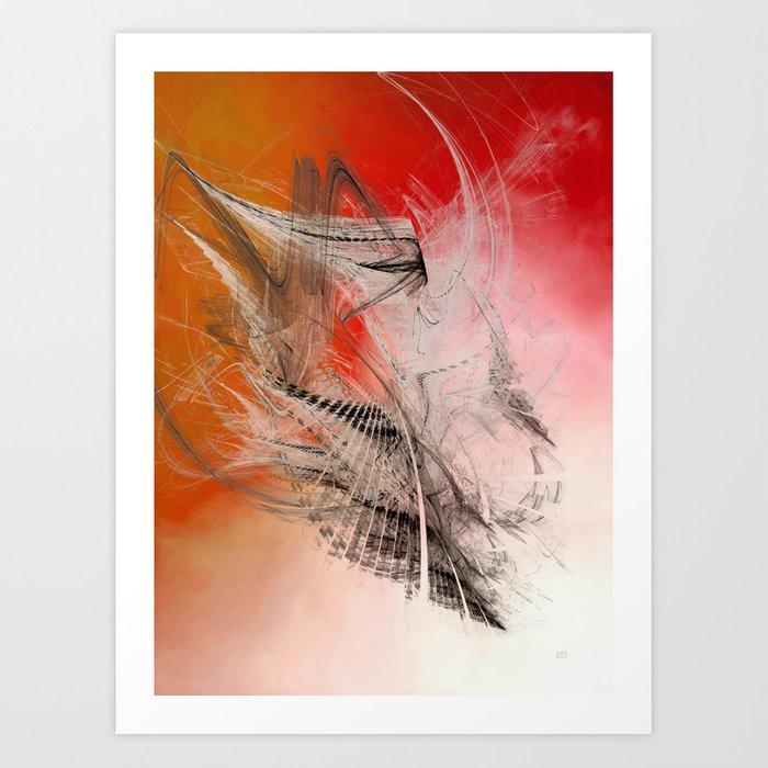 Abstract Art Aries