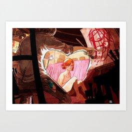 Get a muse! Art Print