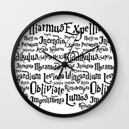Magic Wizard Wall Clock