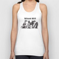 silent hill Tank Tops featuring Silent Hill Hellhounds by nightriot