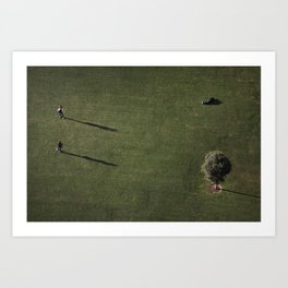 A Bird's Eye View - Los Angeles #88 Art Print