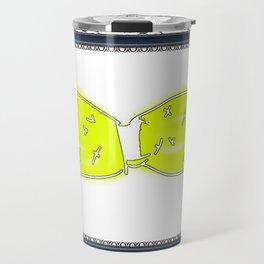 Yellow Bikini Travel Mug