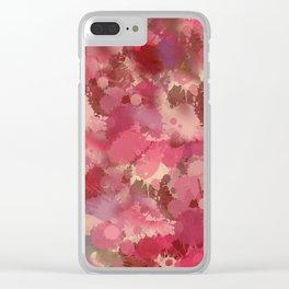 art 16 Clear iPhone Case
