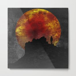 ash and fire Metal Print