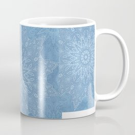 fine denim star mandala Coffee Mug