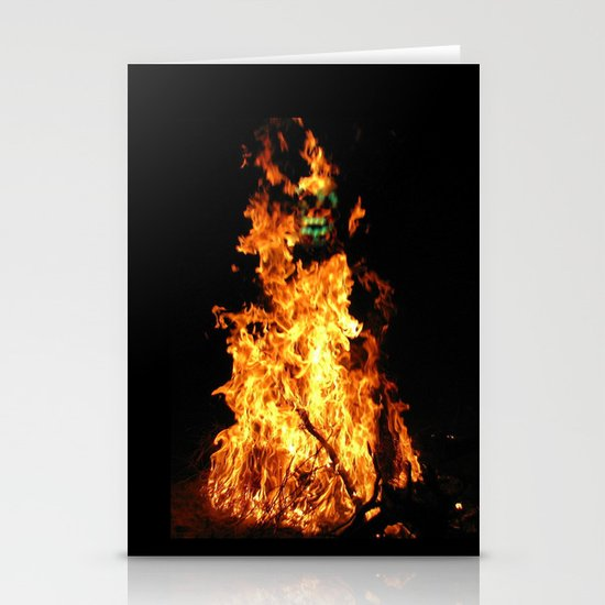 Fire demon Stationery Cards