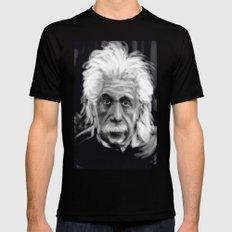 Speed Portraits: Einstein Black MEDIUM Mens Fitted Tee