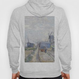 Montmartre - Windmills and Allotments by Vincent van Gogh Hoody