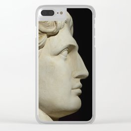 Alexander the Great Clear iPhone Case