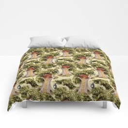 treehouse florest Comforters