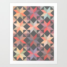 pattern - june/16 Art Print