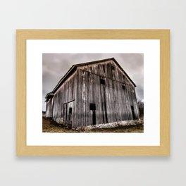 Stately Barn Framed Art Print