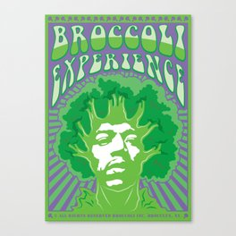 Broccoli Experience Canvas Print