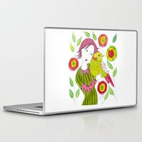 friendship Laptop & iPad Skins featuring Friendship by Jessie Lilac