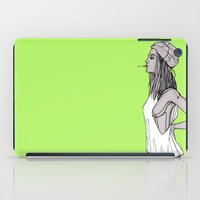 tank girl iPad Cases featuring Tank by fossilized