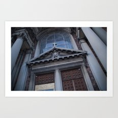 Doorway to St. Francis Art Print