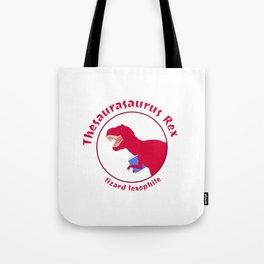 Thesaurasaurus Rex Tote Bag