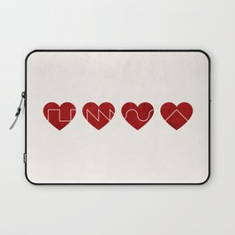 Love Synth Laptop Sleeve
