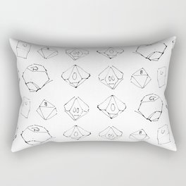 critical Rectangular Pillow