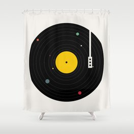 Music, Everywhere Shower Curtain
