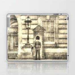 Buckingham Palace Queens Guard Vintage Laptop & iPad Skin