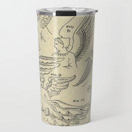 Winged Mythology Travel Mug
