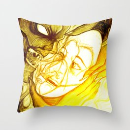 Fear - 001 Throw Pillow