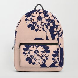 Abstract Wild Flowers  Backpack