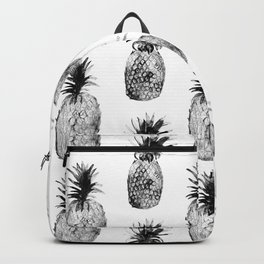 Black-and-white pineapples Backpack