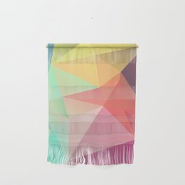geometric V Wall Hanging