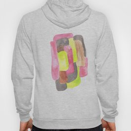 171013 Invaded Space 1 |abstract shapes art design |abstract shapes art design colour Hoody
