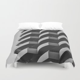 Fascinating Facade Duvet Cover