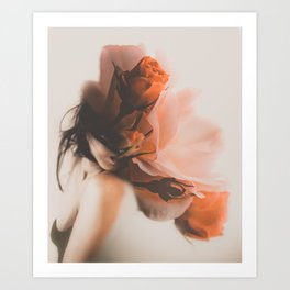 Wild Flower by Omerika Art Print