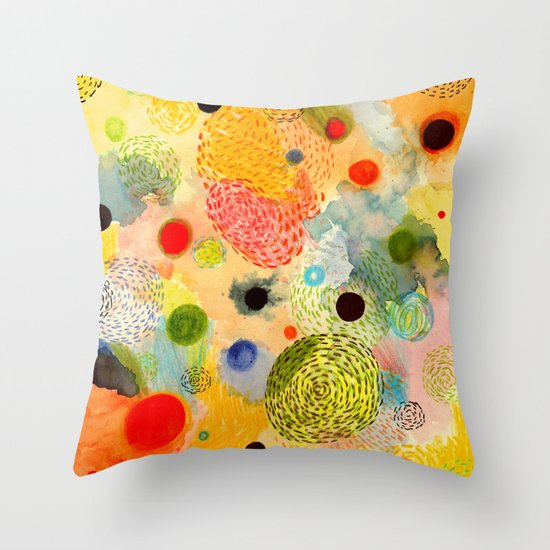 Youth Energy Throw Pillow