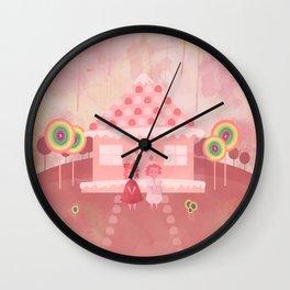 Candy Fields (Hansel & Gretel) Wall Clock