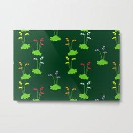 Floral sundews Metal Print