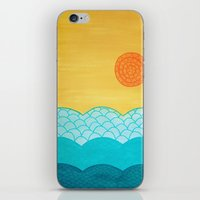 sunrise iPhone & iPod Skins featuring Sunrise by sinonelineman